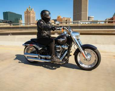Review: The Harley-Davidson Fat Boy 114 – 'this is all about the badass look'
