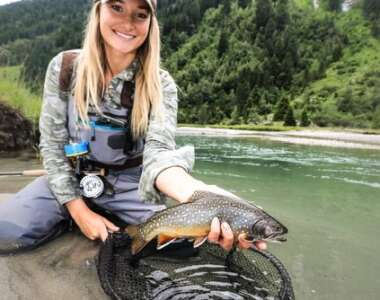 Fly girls – why women's fishing is having a glamour moment