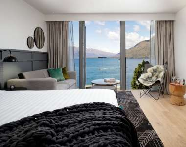 Review: The QT Hotel, Queenstown – avant-garde lakeside luxury