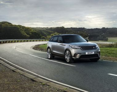 Test driving the Range Rover Velar