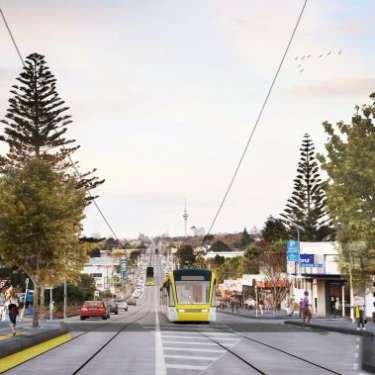Aucklanders' dream of light rail is back on track