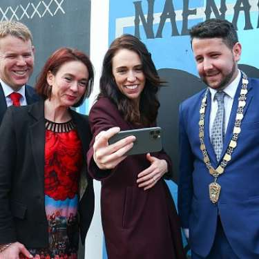 Jacinda played a serious social media game