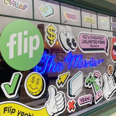 Flip relaunches with fibre broadband for $15 pw