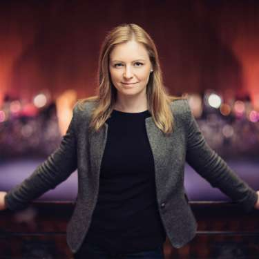 Power play - conductor Gemma New is poised to become New Zealand's most important classical musician.