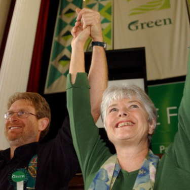 Time for a more independent Green Party