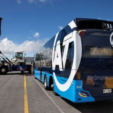 NZ's first hydrogen bus goes into service in Auckland