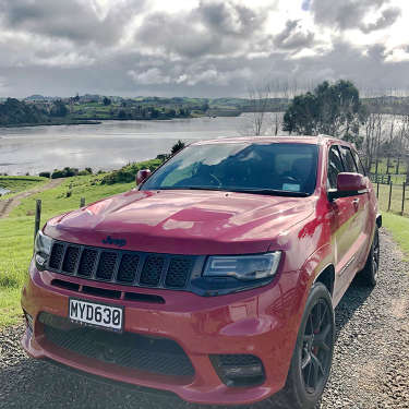Test driving the 2020 Jeep Grand Cherokee SRT