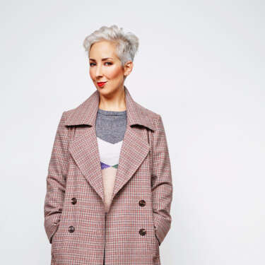 Show your mettle - grey hair is the new black