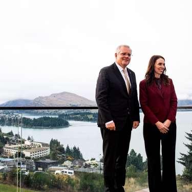 Trans-Tasman PMs reject divisions over China