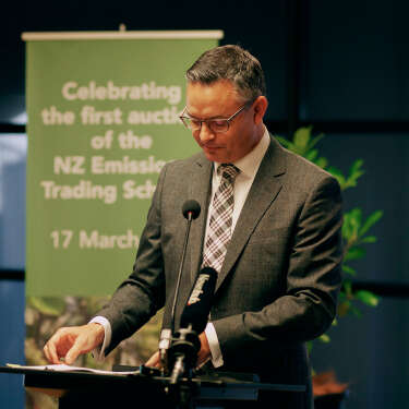 Traders snap up units in NZX's first carbon auction