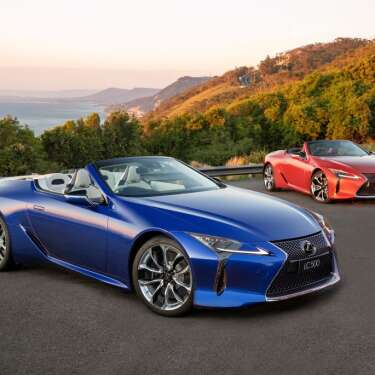 "Review: The Lexus LC 500 Convertible — ""this car should not have been built, but it's such a rush to drive"""
