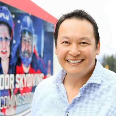 Queenstown's Matt Wong flying high