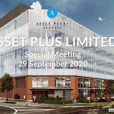 Asset Plus shareholders approve development, capital raise
