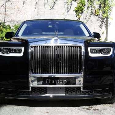 Test driving the Rolls-Royce Phantom