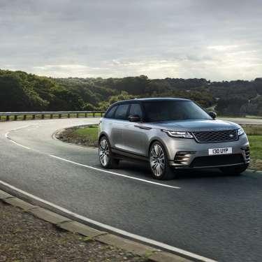 Test driving the Range Rover Velar