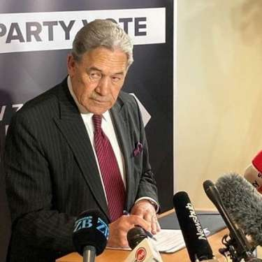 ELECTION 2020:  Peters coy on NZ First future