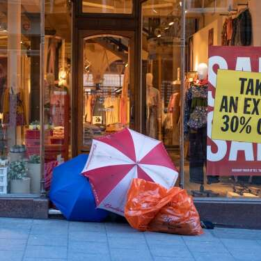 Holiday shoppers should be buying less, not more