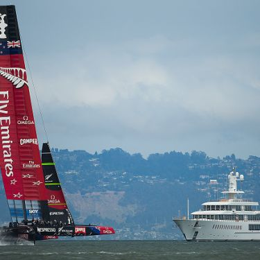 A marriage made in money - superyachts and the America's Cup