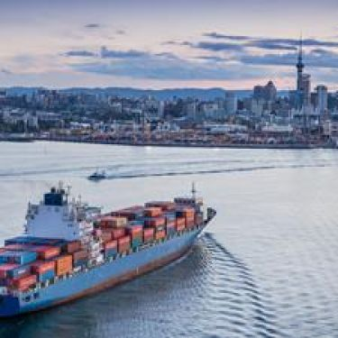 BRENT MELVILLE: It doesn't matter where, moving Auckland's port is expensive
