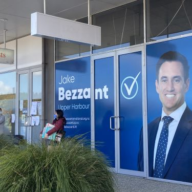 National candidate's questionable exit from tech firm